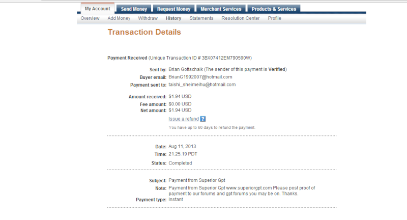Payment Proofs Paymen10