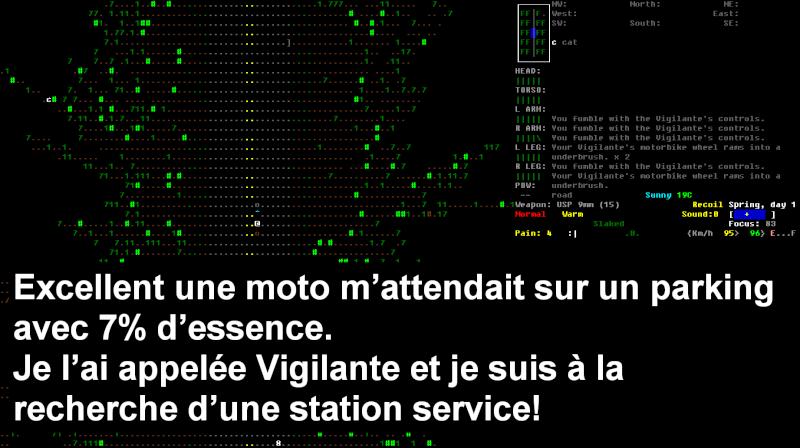 Challenge Francophone de Roguelike sur Cataclysm DDA - Septembre 2013 - CFRL1309CDDA071-KEVIN Jour_115