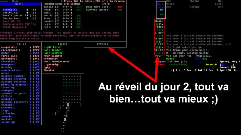 Challenge Francophone de Roguelike sur Cataclysm DDA - Septembre 2013 - CFRL1309CDDA071-KEVIN Jour_211