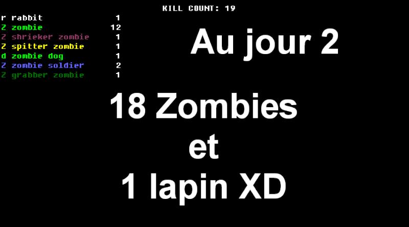 Challenge Francophone de Roguelike sur Cataclysm DDA - Septembre 2013 - CFRL1309CDDA071-KEVIN Jour_212