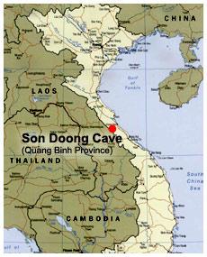 La grotte de Hang Son Doong Map-h010