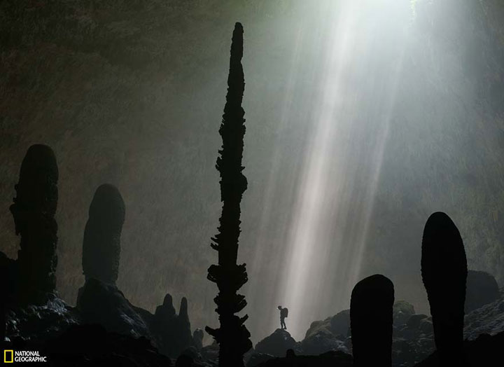 La grotte de Hang Son Doong Plonge13