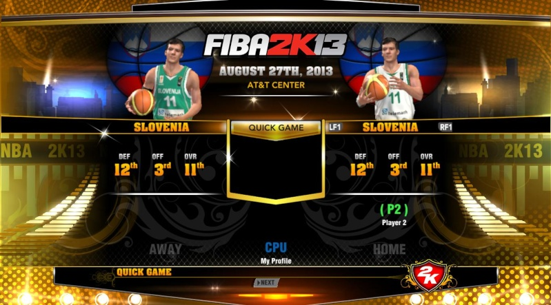 FIBA 2K13 ADD ONS TEAM WITH LATEST ROSTER Nba2k115