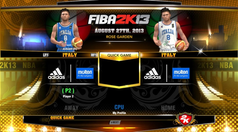FIBA 2K13 ADD ONS TEAM WITH LATEST ROSTER Nba2k119