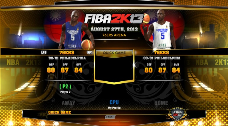 FIBA 2K13 ADD ONS TEAM WITH LATEST ROSTER Nba2k127