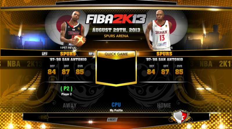 FIBA 2K13 ADD ONS TEAM WITH LATEST ROSTER Nba2k129