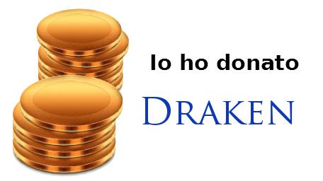 Grazie Draken per la tua donazione a Wiki Info Domanz10