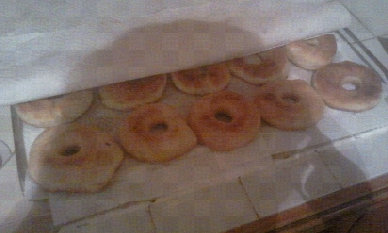 Where are Ches' and Ryu? Ches and Ryu are in the kitchen! Donuts12