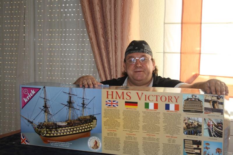 Baubericht   H.M.S. Victory 1805 IN 1:72 von Caldercraft    Victor13