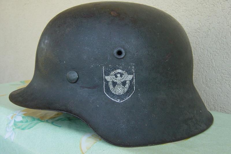 M42 Polizeï (complet) - 2 insignes Dsc04813