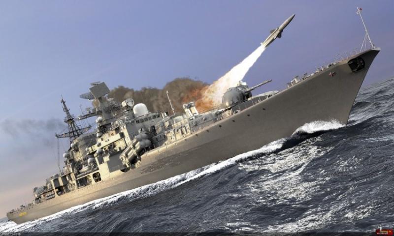 La Marine Russe en eau Syrienne, Poutine joint le geste a la parole Mimoun14