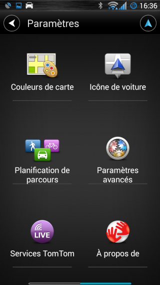 TomTom navigation Screen16