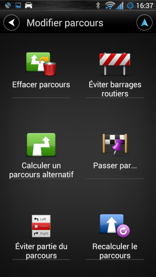 TomTom navigation Screen22