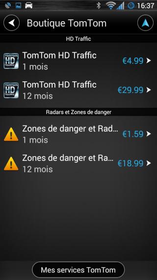 TomTom navigation Screen23