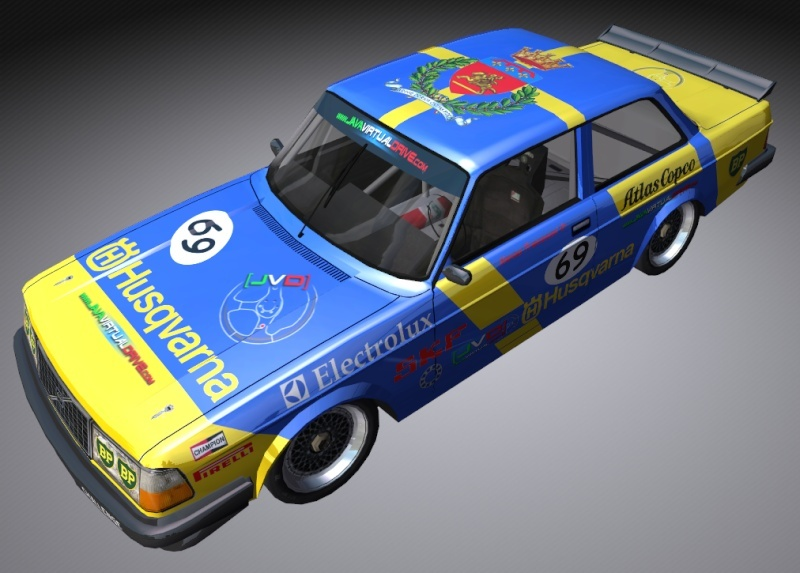 CAMPIONATO S.RW @ European Touring Cars Vintage 2013 Volvoj10