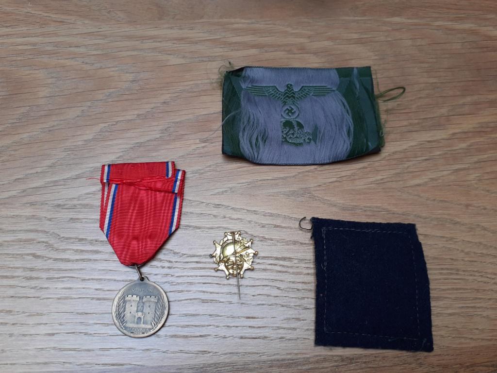Lot insignes et médaille à authentifier/ identifier (all, fr) 20200696