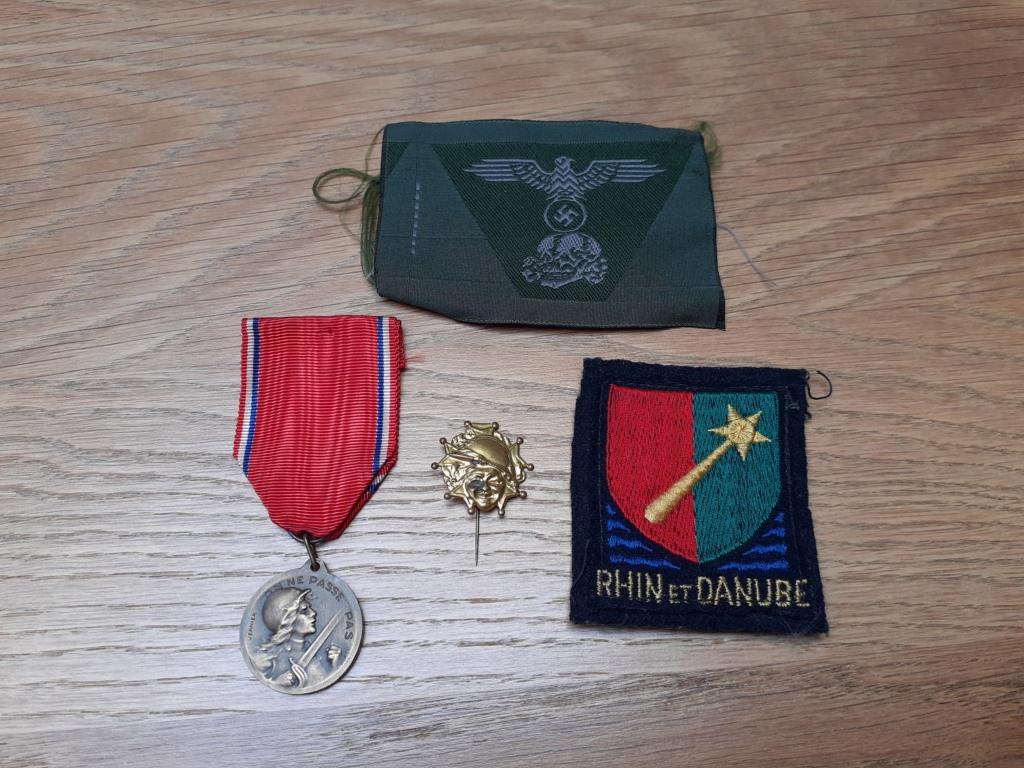 Lot insignes et médaille à authentifier/ identifier (all, fr) 20200698