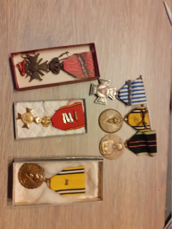 attributs medailles belges 20200760