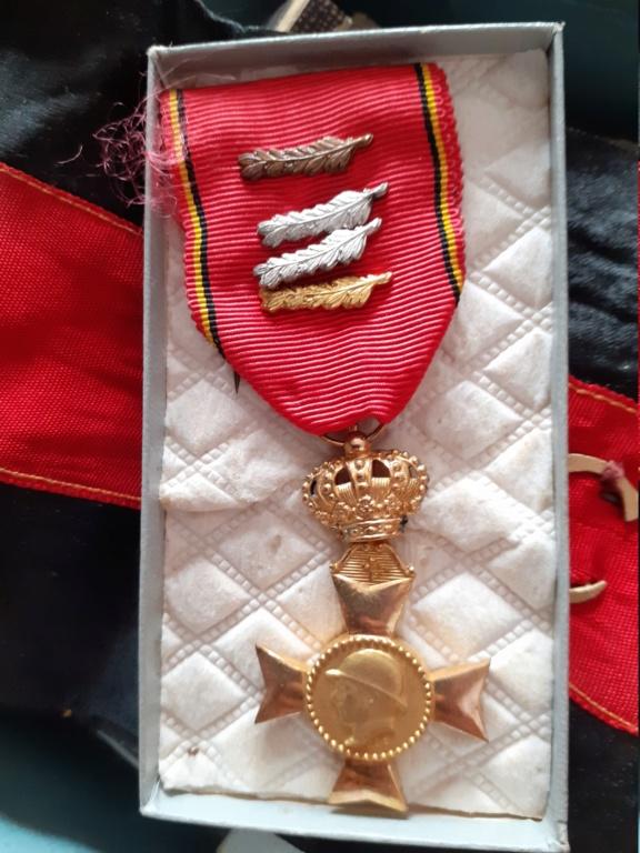 attributs medailles belges 20200761
