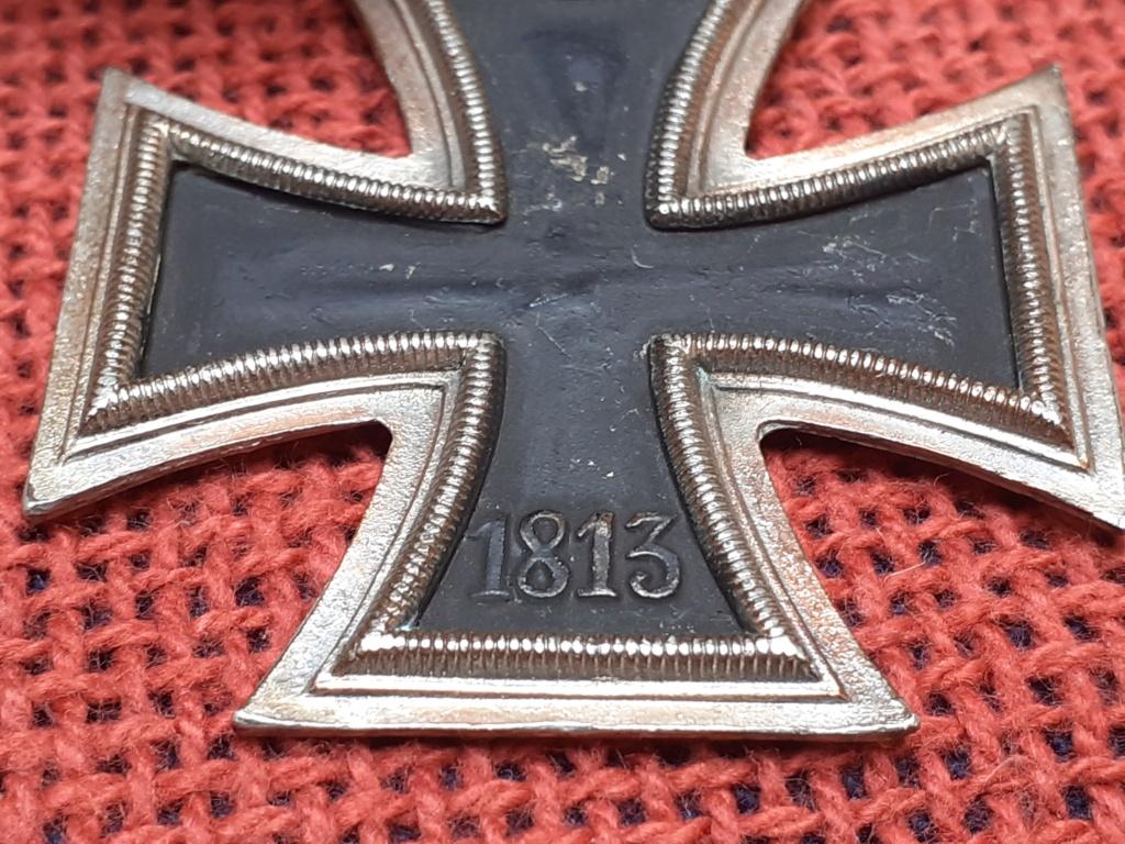 chevalier de la  Croix de fer/ DK in gold 20200816