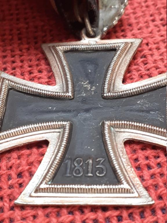 chevalier de la  Croix de fer/ DK in gold 20200817