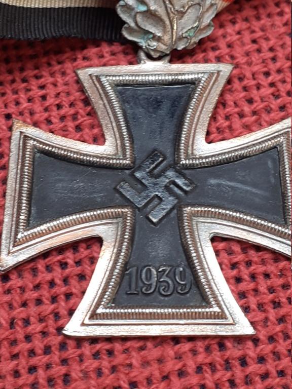 chevalier de la  Croix de fer/ DK in gold 20200819