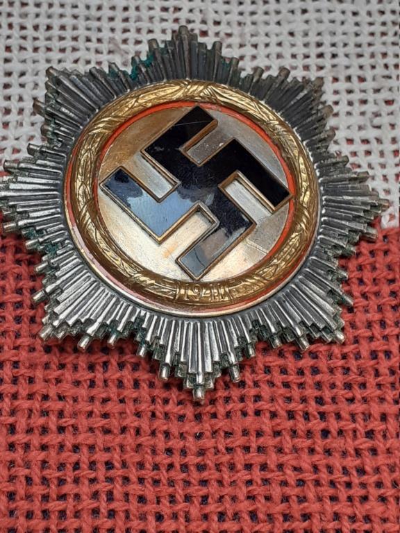 chevalier de la  Croix de fer/ DK in gold 20200824