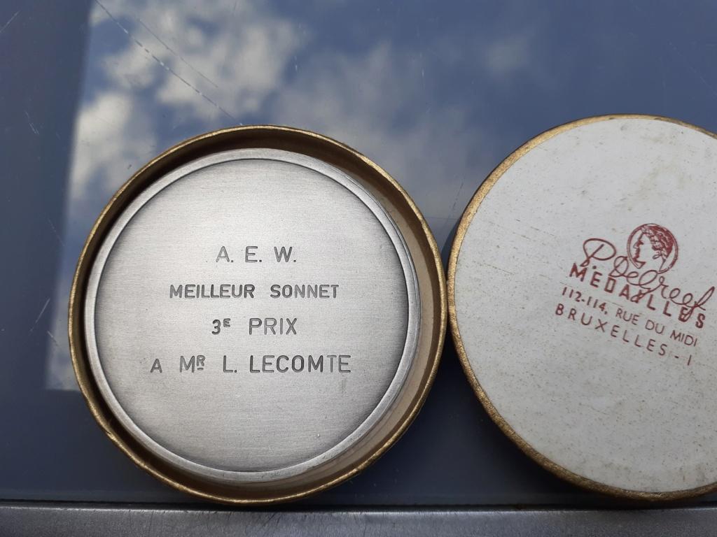 Lot de médaille Belge à identifier et estimer  20200929