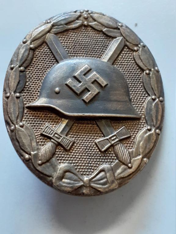 insigne blessé allemand 1939 or et 1936 argent 20200941