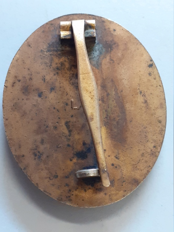 insigne blessé allemand 1939 or et 1936 argent 20200945
