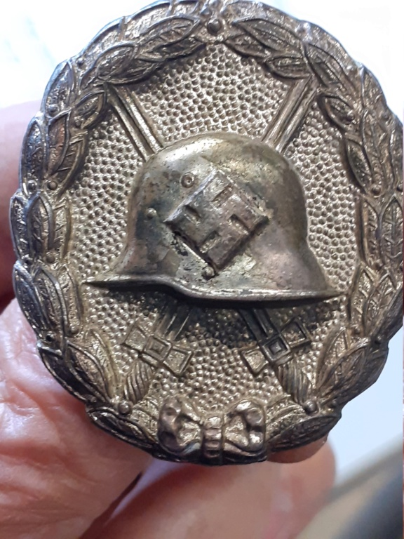 insigne blessé allemand 1939 or et 1936 argent 20200950