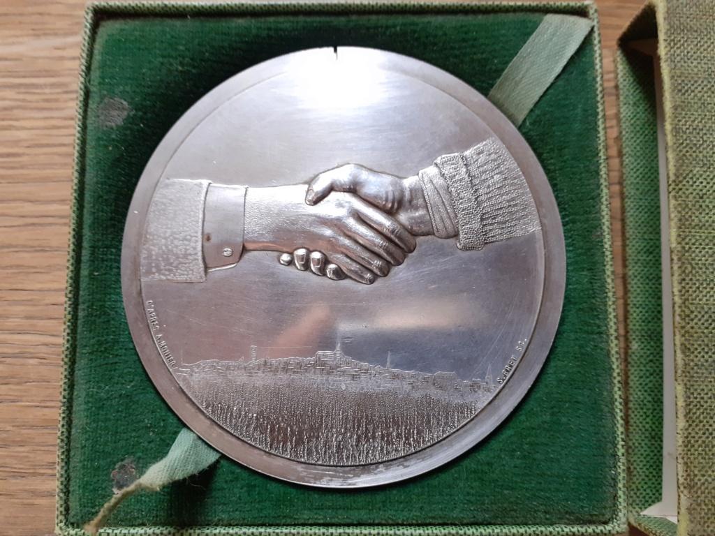 Médaille de table française civil ?? 20201110