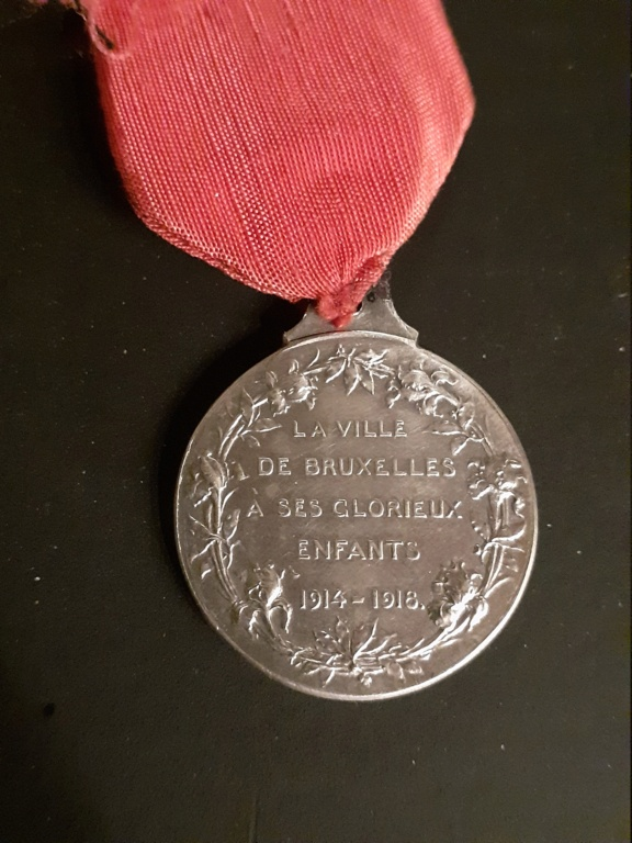 Medaille Belge 1914-1918 20201213