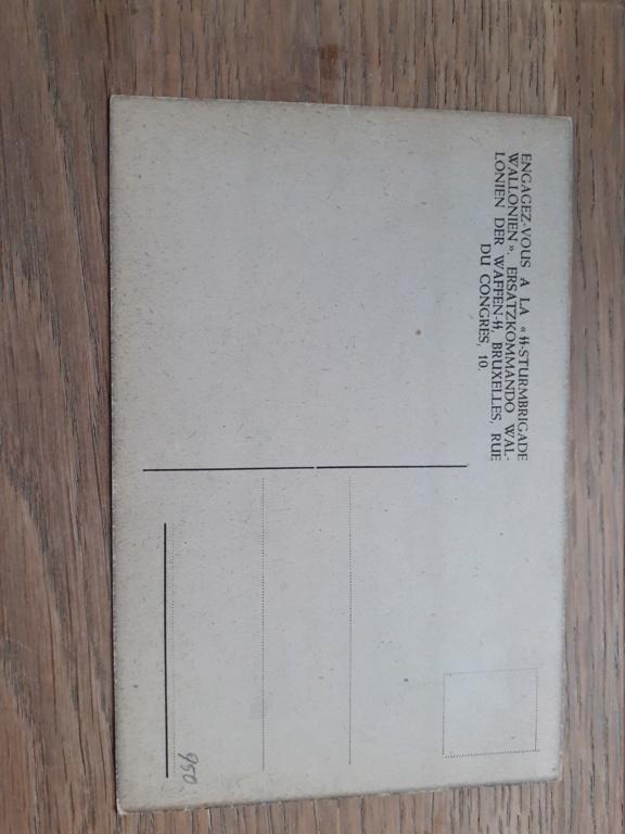 carte postal REX/ Division Wallonie 20201218