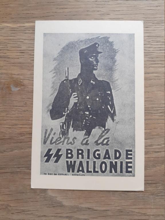 carte postal REX/ Division Wallonie 20201219