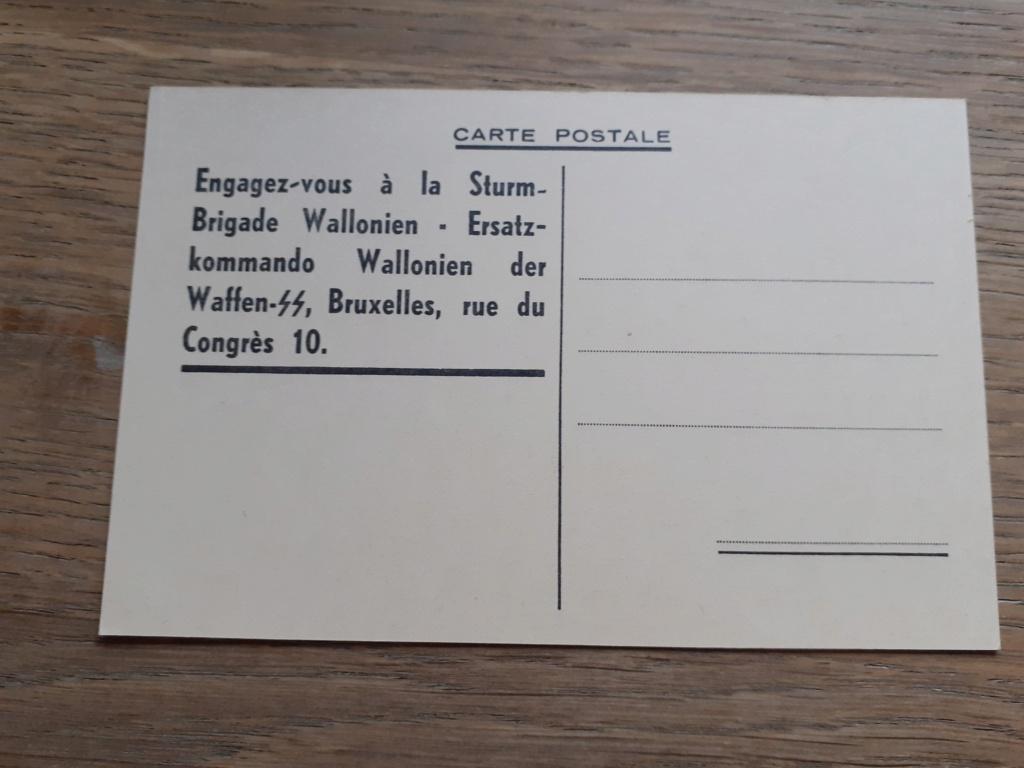 carte postal REX/ Division Wallonie 20201221