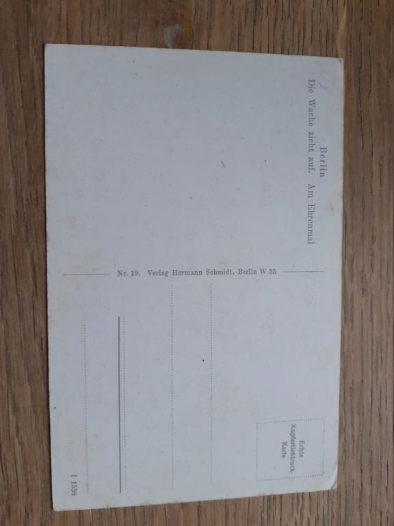 carte postal allemande et photo panzer 20201225