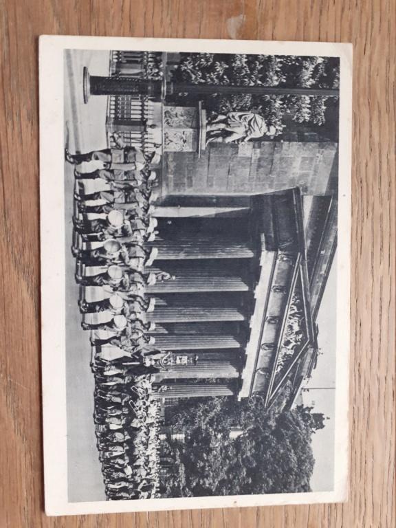 carte postal allemande et photo panzer 20201226