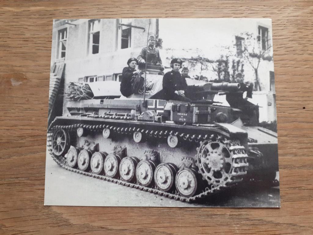 carte postal allemande et photo panzer 20201229