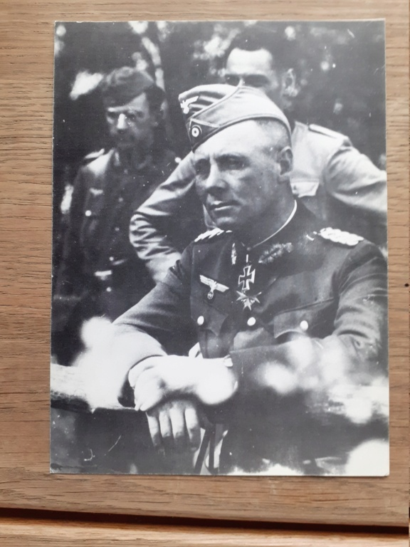 carte postal allemande et photo panzer 20201231