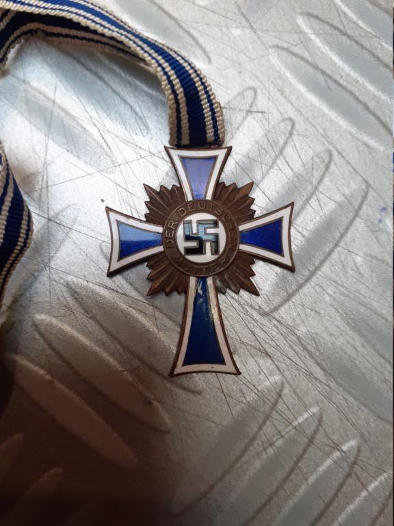Médaille allemand à authentifier 20201246