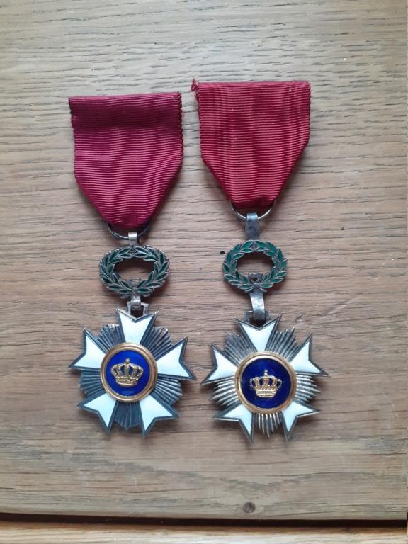 """Chevalier de l'Ordre de la couronne Belge """"spécial"""". 20210132"""
