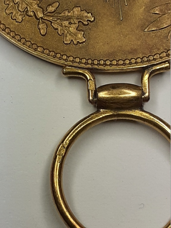 médaille arabe à identifier 20210281
