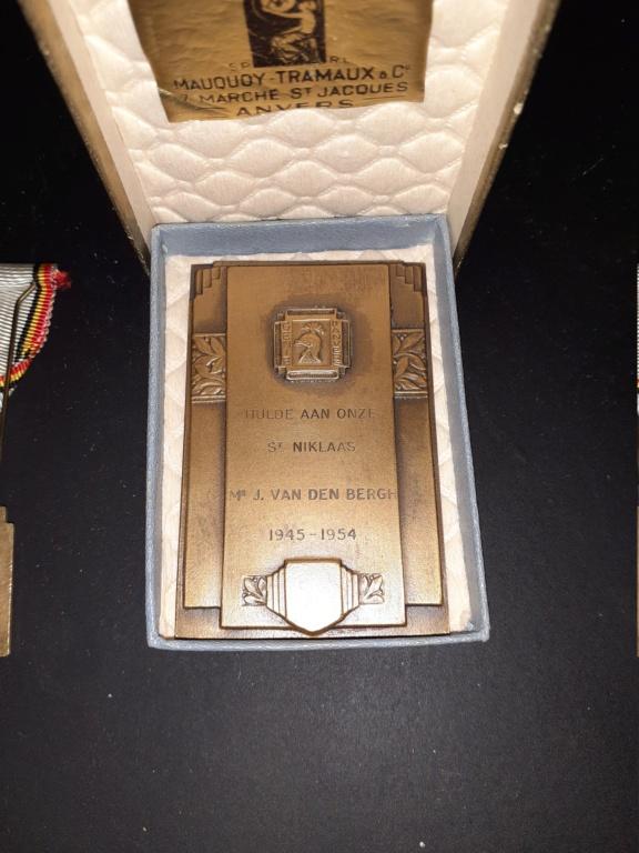 Médailles Belge du Génie d'Anvers 20210410