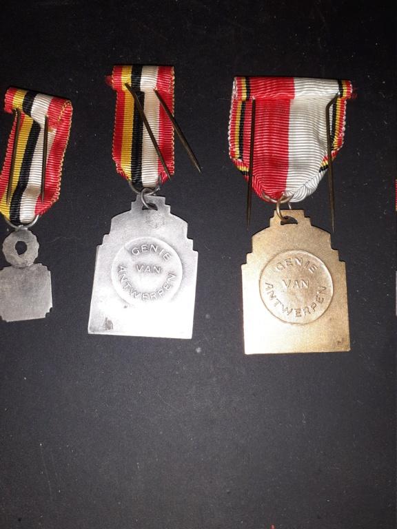 Médailles Belge du Génie d'Anvers 20210411