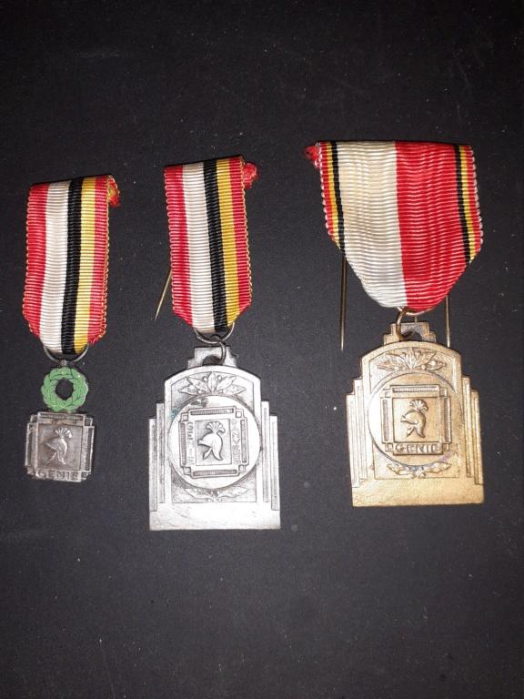 Médailles Belge du Génie d'Anvers 20210412
