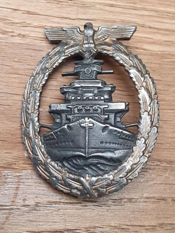 Zerstörer et Flotten Kriegsabzeichen 20210856