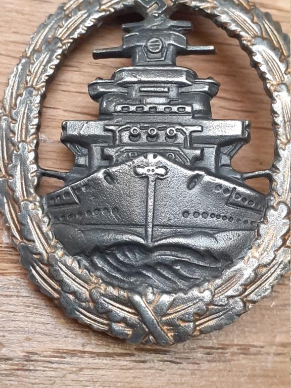 Zerstörer et Flotten Kriegsabzeichen 20210857
