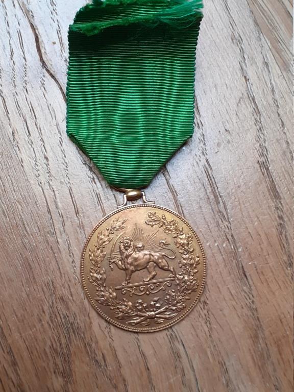 médaille arabe à identifier 20210897