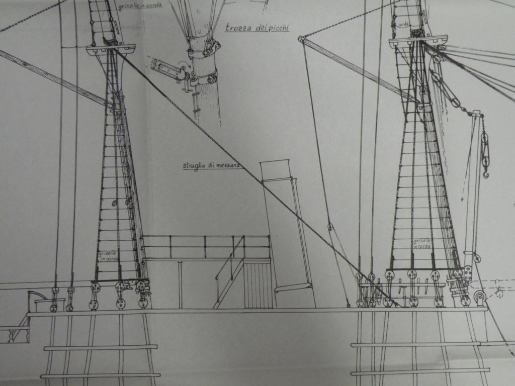 vele - costruzione di goletta, liberamente ispirata a piroscafo cannoniera del XIX secolo - Pagina 16 Dscn9913